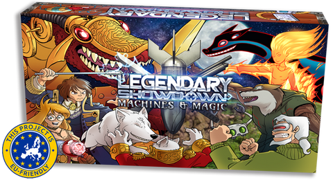 Legendary Showdown: Machines and Magic - EU Friendly - SPECIAL SALE