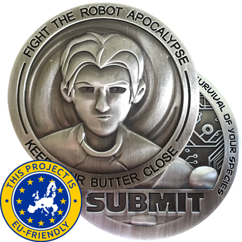 Apocalypse Survivor Challenge Coin - EU Friendly