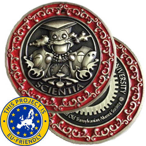 Transylvania Polygnostic University Challenge Coin - EU Friendly