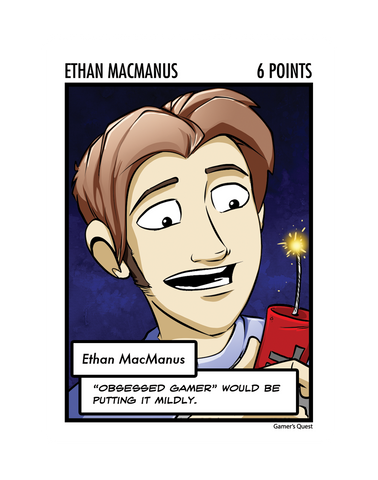 Ethan MacManus: The Oversized Card