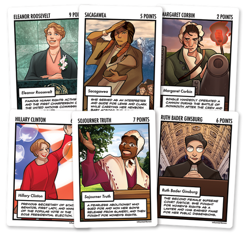 Influential Women Expansion from Legendary Showdown: Presidential Edition - EU Friendly