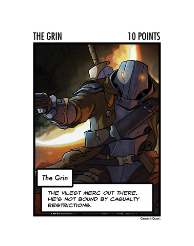 The Grin: The Oversized Card
