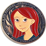 Antimony and Kat Challenge Coin - EU Friendly