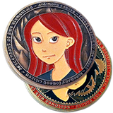 Antimony and Kat Challenge Coin