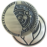 Federation Credits Challenge Coin