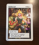 Agatha Clay: The Oversized Card