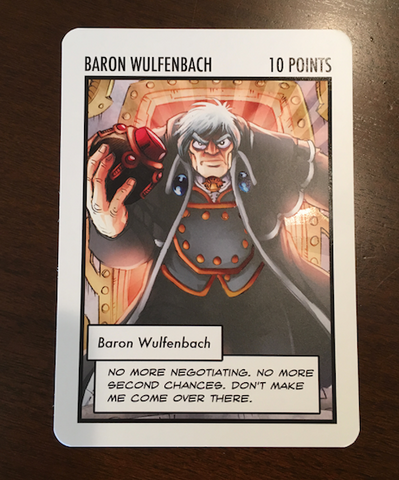 Baron Wulfenbach: The Oversized Card