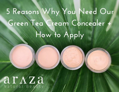 5 Reasons Why You Need Our Green Tea Cream Concealer + How to Apply