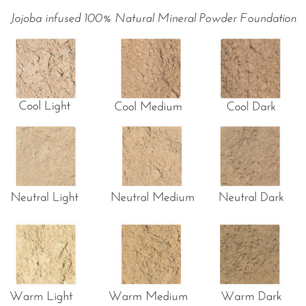 Powder Foundation Color Guide