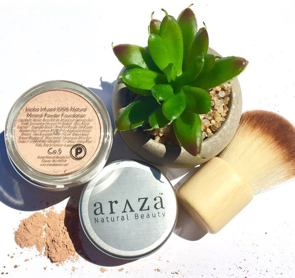 6 Reasons Why You Need our Jojoba Infused 100% Natural Mineral Powder Foundation this SUMMER