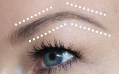 concealer highlight eyebrow tutorial brow pencil