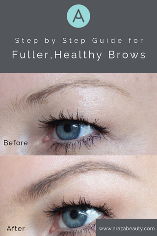 brow tutorial fuller brows blondes eyebrow paleo makeup organic gluten free healthy
