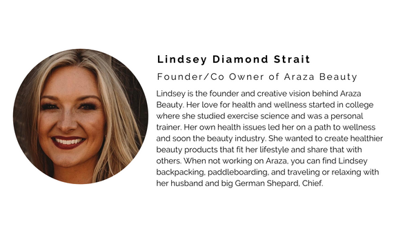 lindsey founder natural beauty clean araza natural safer makeup skincare