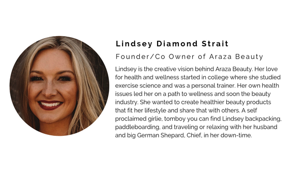 lindsey araza beauty paleo makeup skincare natural organic healthy