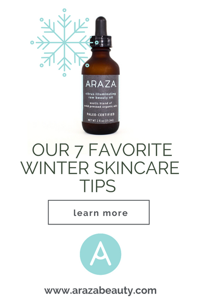 winter paleo skincare tips healthy skin organic natural safer beauty health