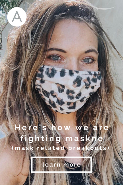 how we are fighting maskne mask related breakouts with organic paleo makeup and skincare natural healthy clean beauty cruelty free vegan