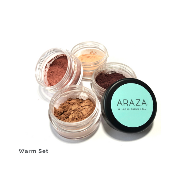 Fresh Mineral Powder Loose Eye color set in warm