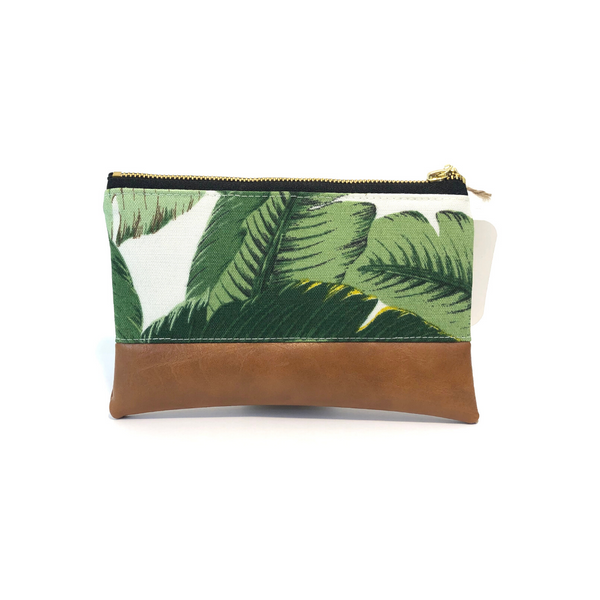 Banana Leaf Handmade Makeup Bag