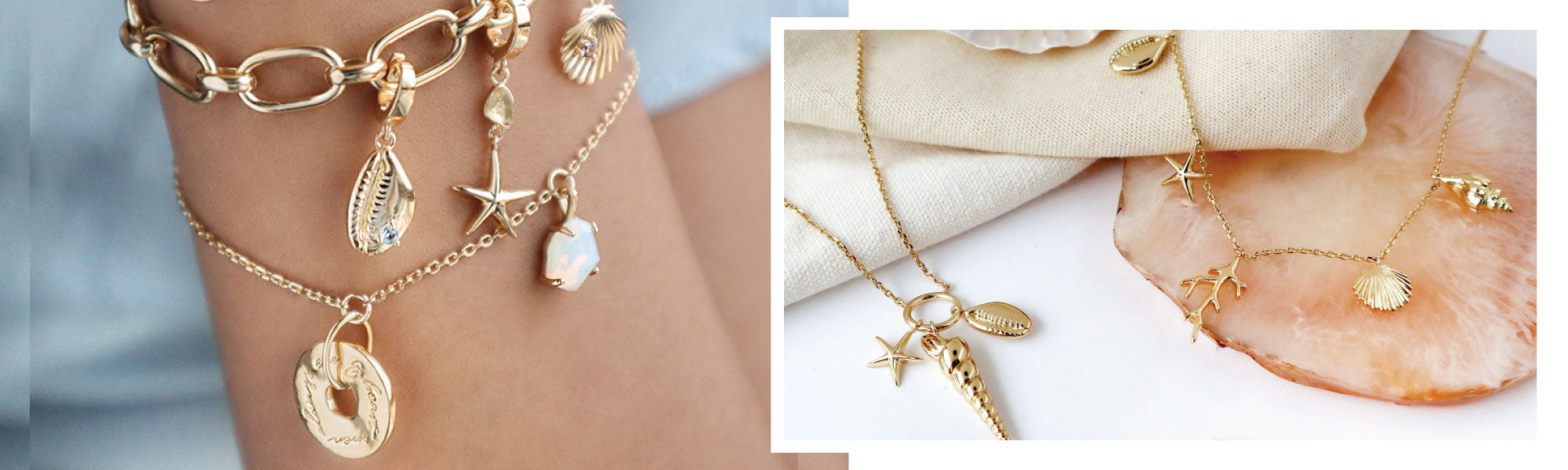 Summer Fashion: Seashell Jewelry