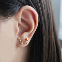 November Birthstone Gold Earrings - Wanderlust + Co
