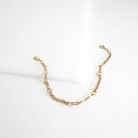 Mixed Chain Gold Bracelet
