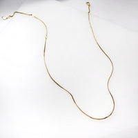 Classic Gold Necklace - Wanderlust + Co