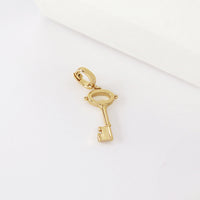Key Gold Charm - Wanderlust + Co