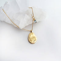 Trust the Flow Gold Necklace - Wanderlust + Co