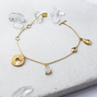 Heart Always Gold Bracelet - Wanderlust + Co