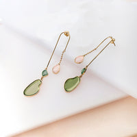 Skye Gold Drop Earrings - Wanderlust + Co