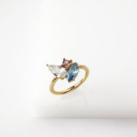 Skylar Gold Cocktail Ring