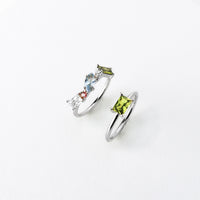 Kaia Silver Ring Set - Wanderlust + Co