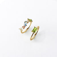 Kaia Gold Ring Set - Wanderlust + Co