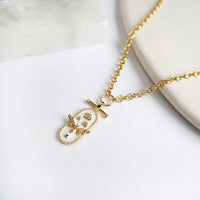 Flutter Gold Necklace - Wanderlust + Co