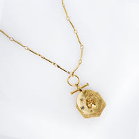 Rosa Gold Necklace - Wanderlust + Co
