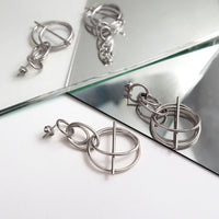 Helix Silver Earrings - Wanderlust + Co