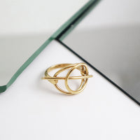 Infusion Gold Ring - Wanderlust + Co
