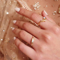 Asteria Gold Ring - Wanderlust + Co