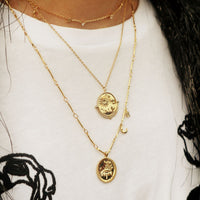 Astra Gold Necklace - Wanderlust + Co