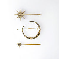 Celestial Hair Clip Set - Wanderlust + Co
