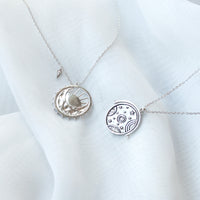 Orbit Silver Necklace