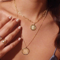 Daydreamer Gold Necklace - Wanderlust + Co
