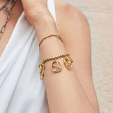 Helix Gold Layered Bracelet