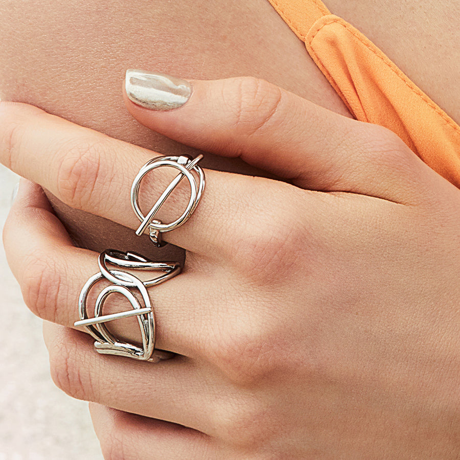 Infusion Silver Ring