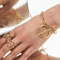 Infusion Gold Toggle Bracelet - Wanderlust + Co