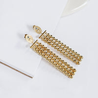Luna Gold Drop Earrings - Wanderlust + Co