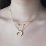 Milky Way Gold Necklace