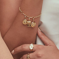 Mixed Chain Gold Bracelet - Wanderlust + Co