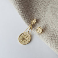 Out of this World Gold Earrings - Wanderlust + Co