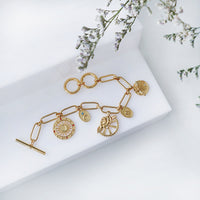 Reverie Gold Toggle Bracelet - Wanderlust + Co
